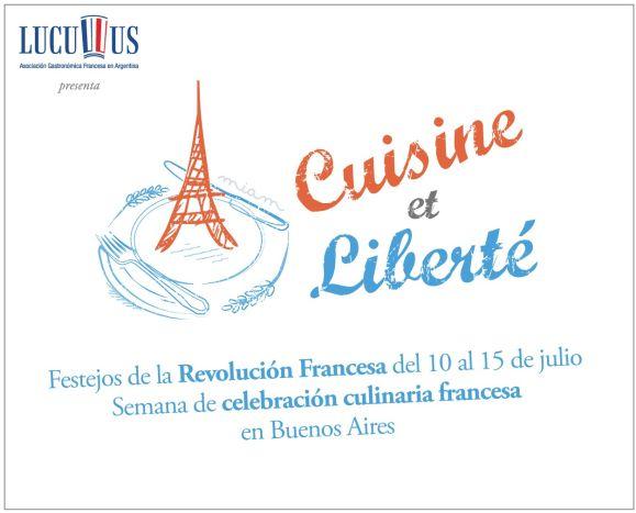 Cuisine et Liberté! Ciclo de cocina francesa!