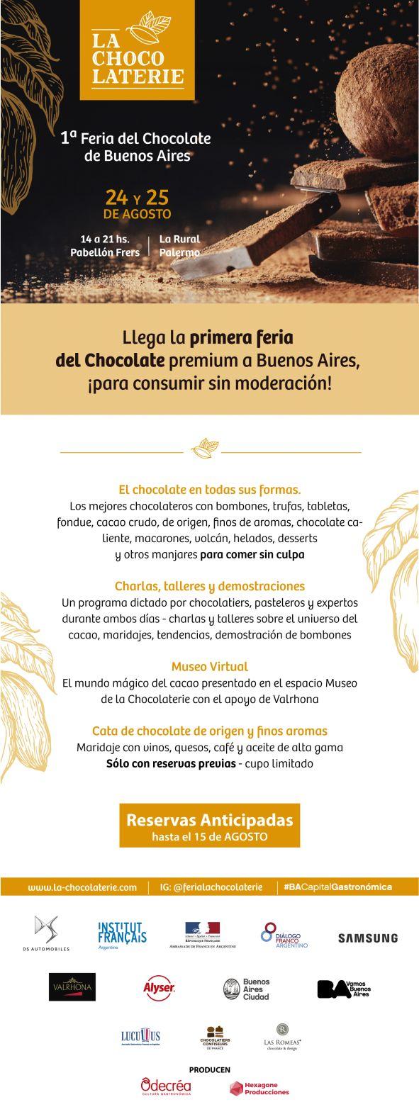 Feria del chocolate en La Rural
