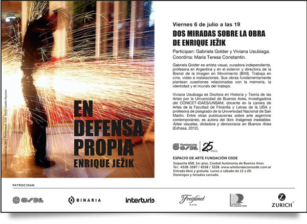 Análisis de la obra de Enrique Jezik en la Fund. Osde