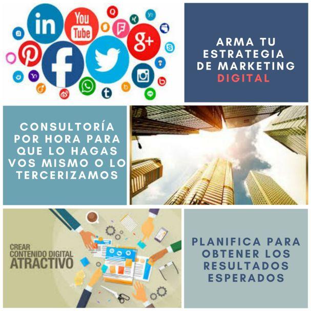 Estrategia en marketing digital a tu medida y en Pilar
